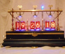 The Victorian Tantalus Nixie Clock