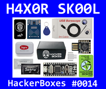 HackerBoxes 0014: Cache the Planet