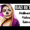 EDGY BAD BETI ? - MAKEUP FOR HALLOWEEN (Tutorial)??
