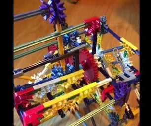 Knex 3-Way Geartrain Switch