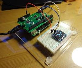 CoPiino runs small I2C OLED display