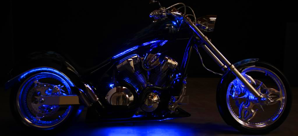 Install LED Lighting Strips on Motorcycle: 6 Steps on
