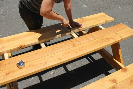 Cut Center Table Top Cleats