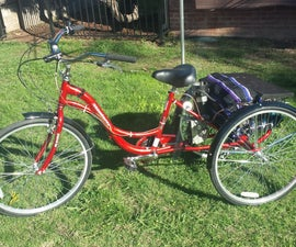 DIY Electric Trike From Electric Wheelchair Motor