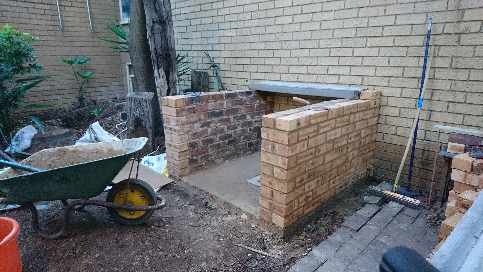 Picture of Building Up the Base Walls