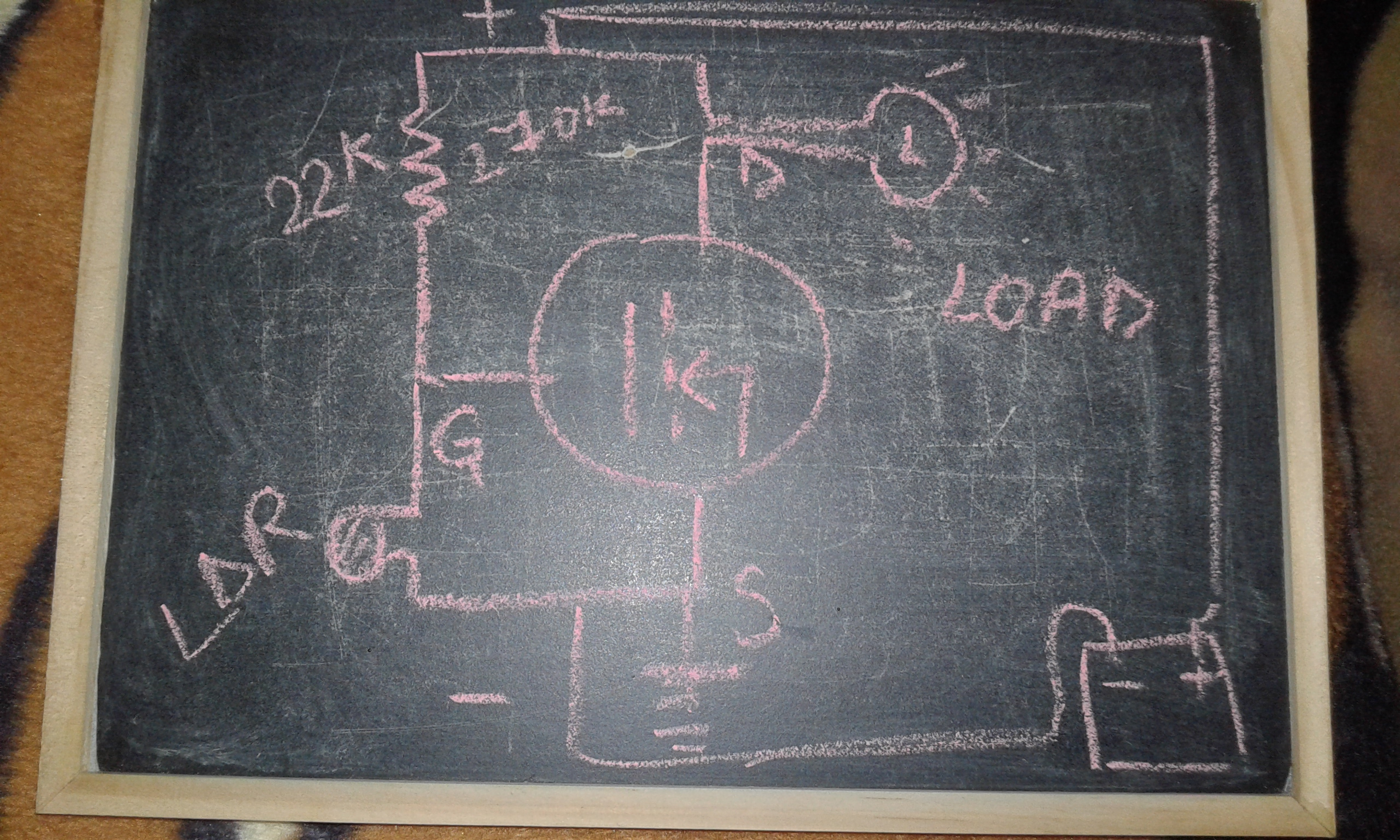 Picture of Automatic Night Light Circuit Diagram