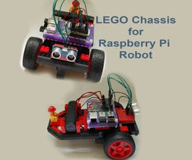 Lego Chassis for Raspberry Pi Robot