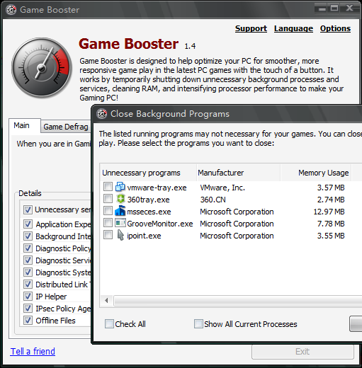 Picture of Game Booster