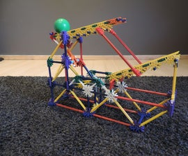 Knex Ball Machine Element: the Ball Launcher