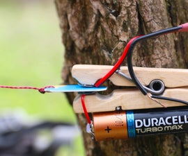 How to Make a TRIP-WIRE ALARM