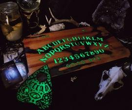 Glowing Ouija Board Set