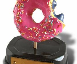 Homer Simpson's 3D Doughnut Trophy