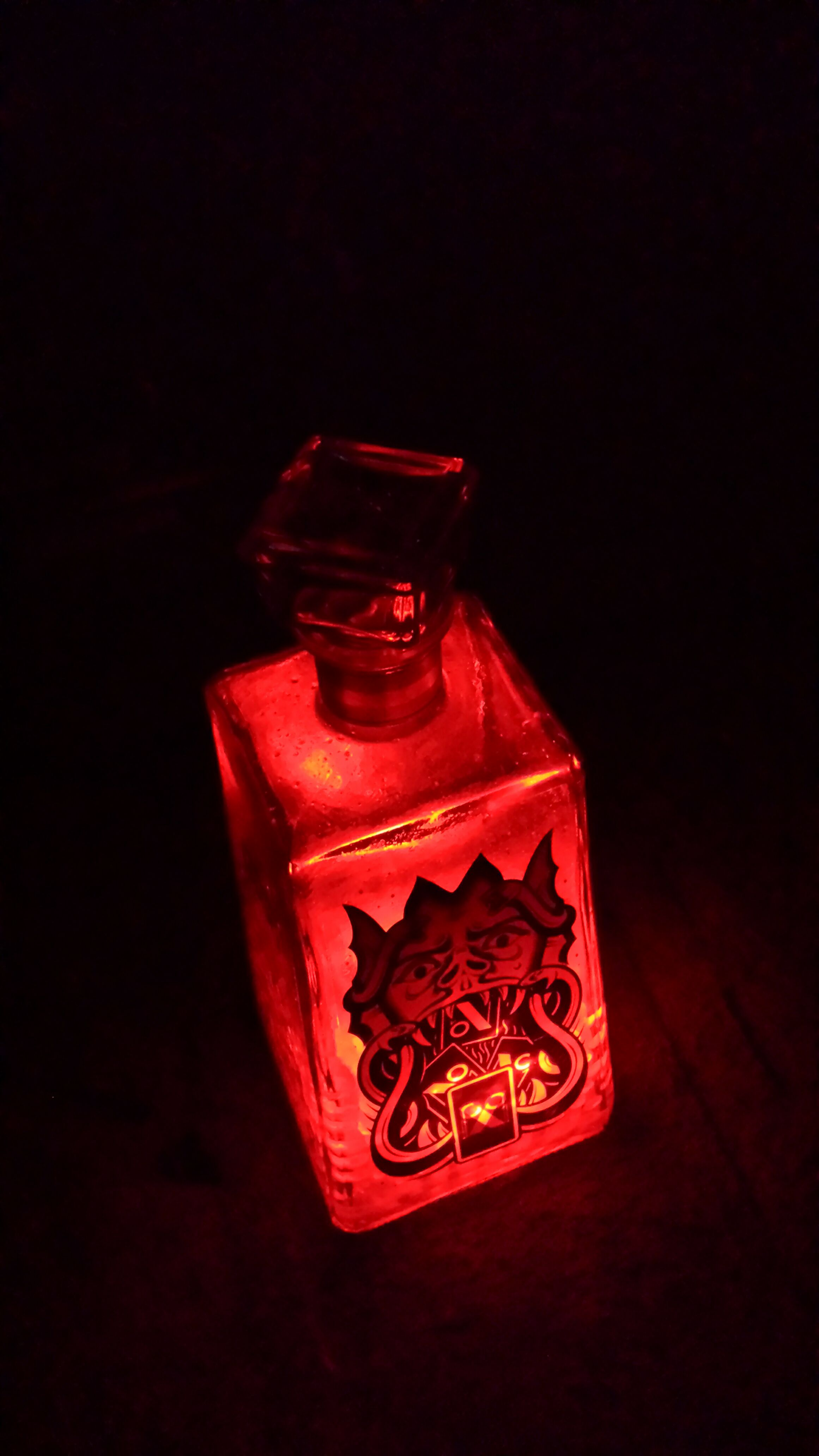 Picture of Quick and Easy, Temporary,  Liquor Bottle Accent Lighting