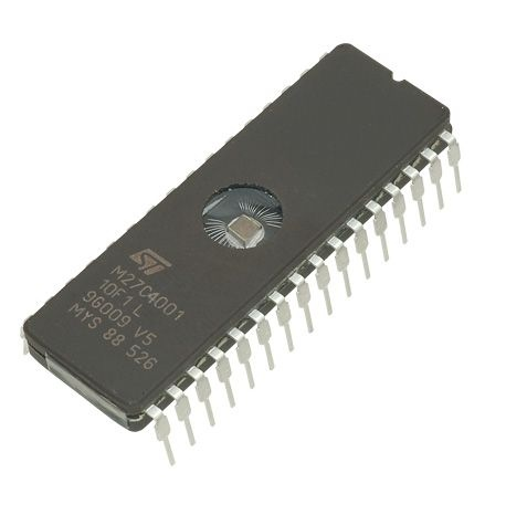 Picture of Preparing the EPROM