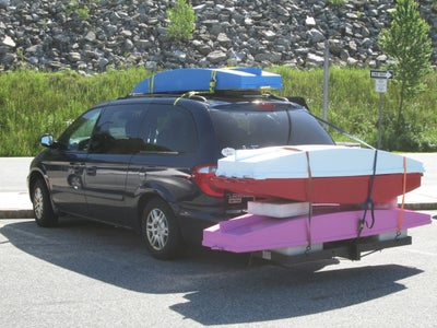 Quiver Paddle Bag, Keeping a Bundle of Paddles Safe and Organized