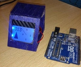 Arduino Digital Magnetic Compass (HMC5883L - 2 display modes)