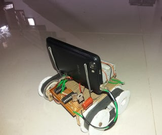 Mobile Controlled Robot With Camera (no Microcontrolers Used)