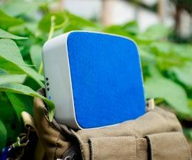 DIY Portable Bluetooth Speaker 30W, BT4.0, Passive Radiators