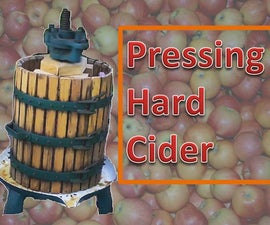 Pressing and making hard cider.