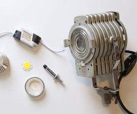 Convert a Vintage Light to Component LED