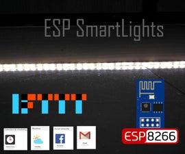 SmartLights - ESP8266 and Led Strip