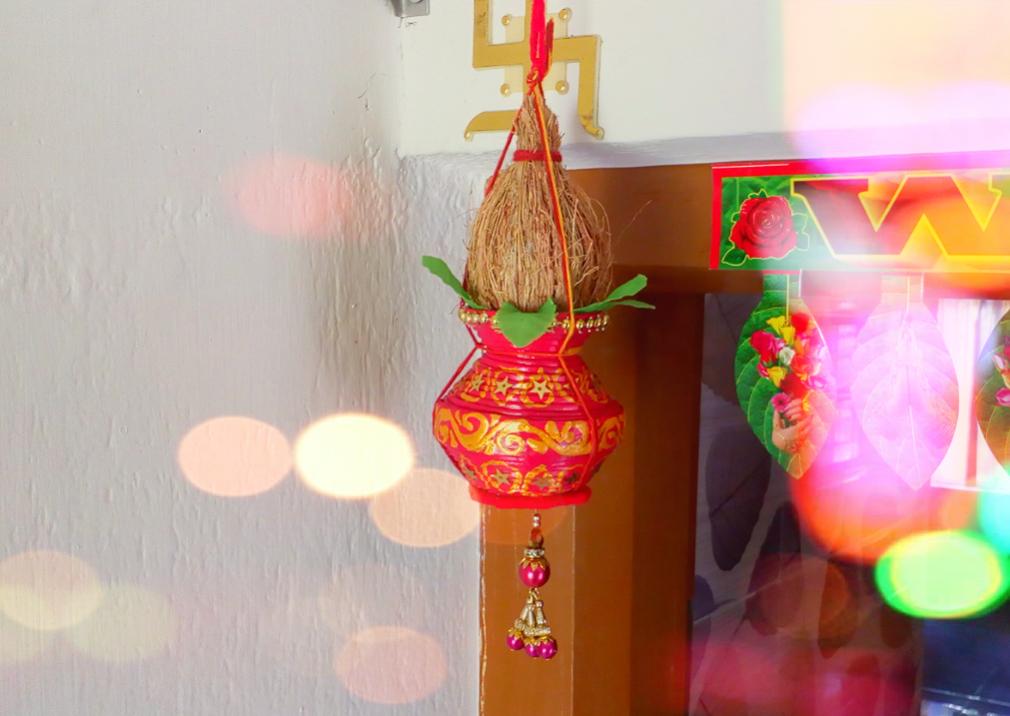 Picture of DIY Kalash Door Hanging   DIY Kalash Decoration   Traditional Door Hanging   DIY CraftsLane
