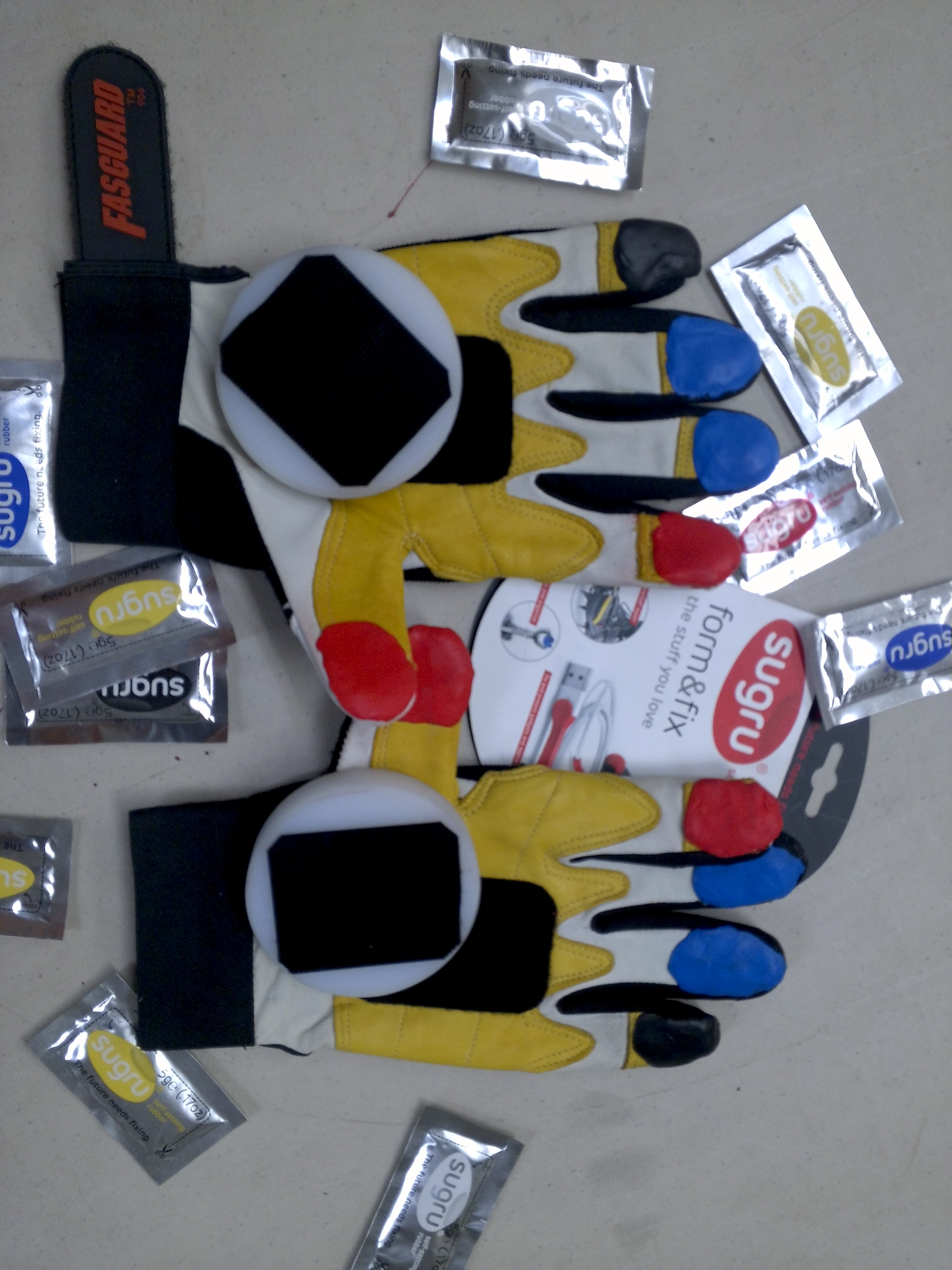 Picture of Downhill Skateboard Glove Reenforcement