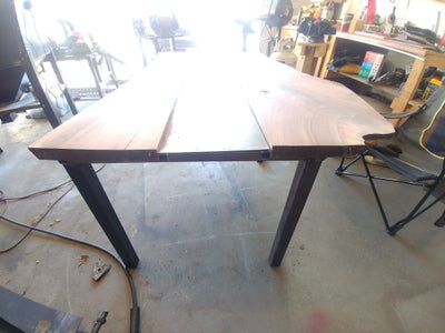 Adding Legs and Cutting Sheet Metal to Fit the Center Piece