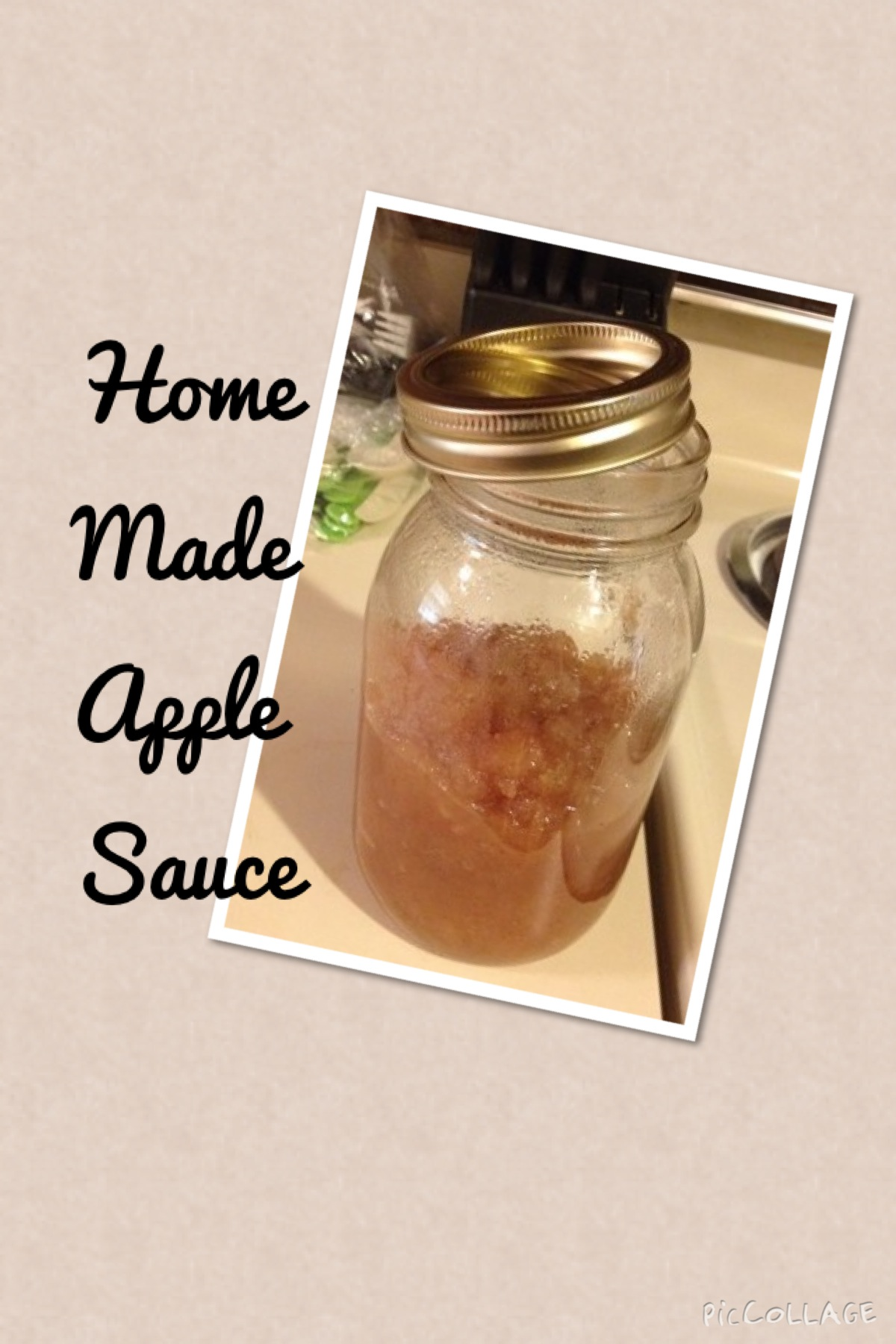 Picture of Home Made Apple Sauce