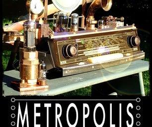 """The Steampunk Data Storage """"METROPOLIS I"""""""
