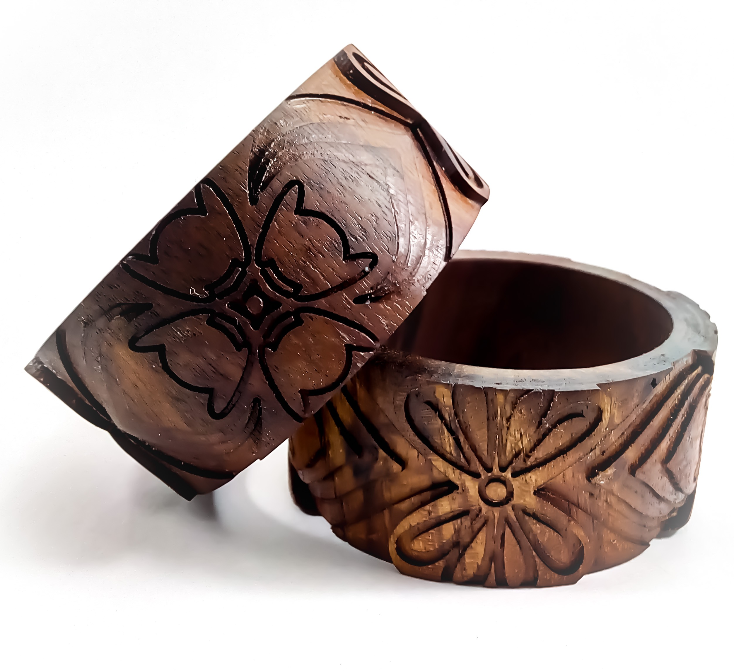 Picture of CNC Engraved Wooden Bangle