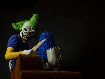 Evil Krusty Vs. Simpsons Couch Costume - Treehouse of Horrors III
