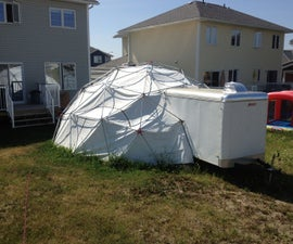 24 foot, 3V Geodesic EMT Dome