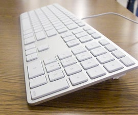 Tilt your Aluminum Apple Keyboard