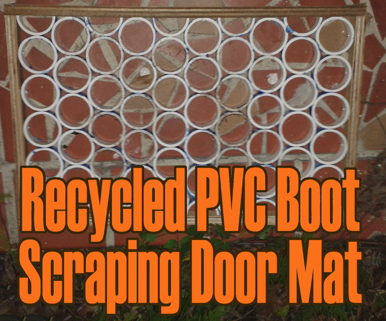 Picture of Recycled PVC Boot Scrubbing Door Mat