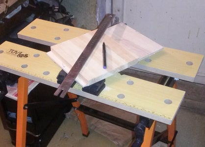 Cutting of Material.