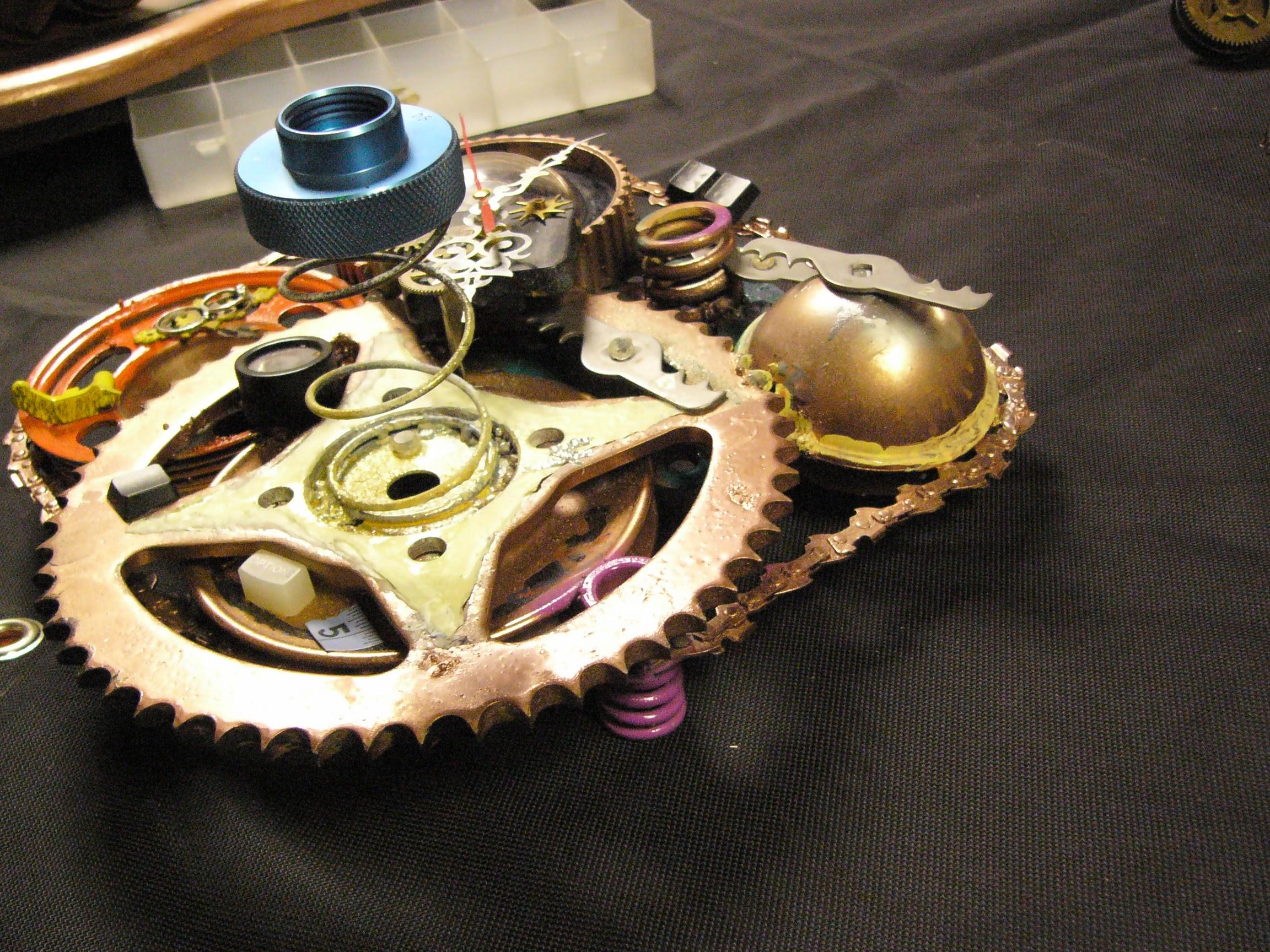 Picture of Steam Punk Gear Clock