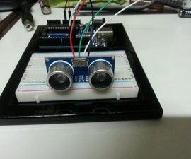 Ultrasonic Range detector using Arduino and the SR04 Ultrasonic sensor