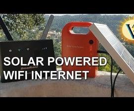 Solar Powered WiFi