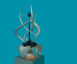 Building A Kinetic Wind Sculpture