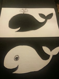 Note Card Whales