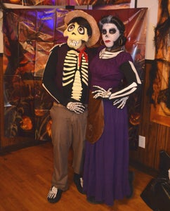 Mama Imelda and Hector Rivera From Coco