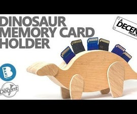 Gigasaurus - Holds SD/Switch/MicroSD Cards!