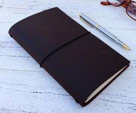 Make a Midori Type Traveler's Notebook