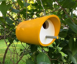 Simple PVC Birdhouse