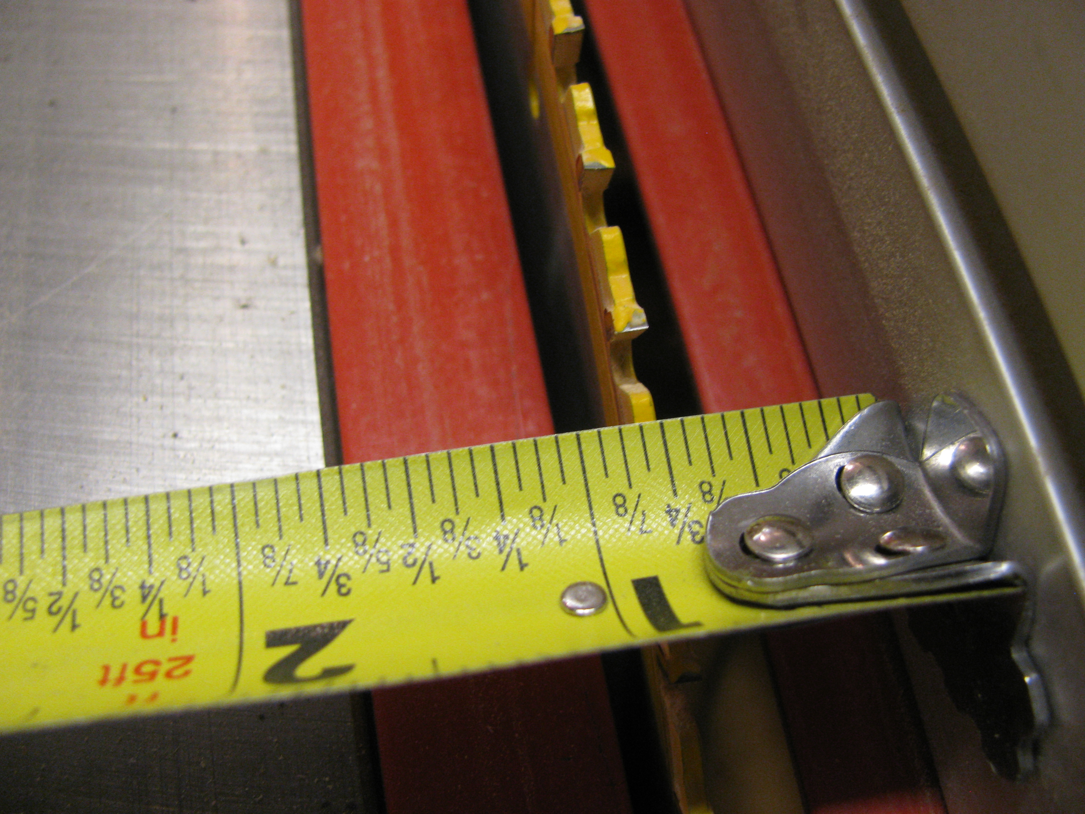 Picture of Rip the Dowels to Size