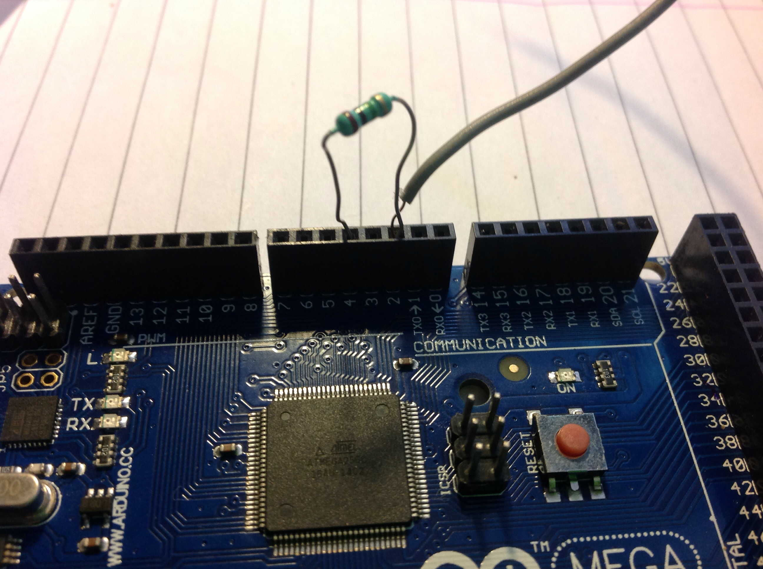 Picture of Touch Controlled Light:- the Circuit