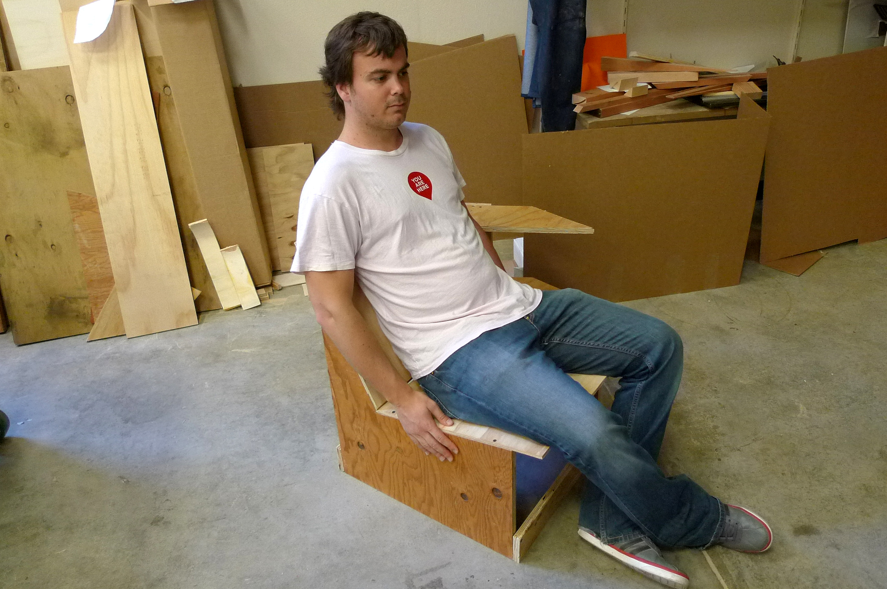 Picture of Testing Ergonomics