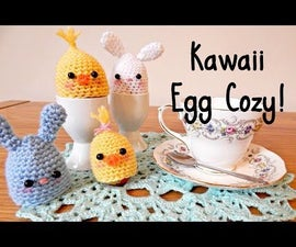 DIY Kawaii Crochet Egg Cozy! ¦ The Corner of Craft