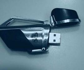 USB Thumb drive flash drive holder-MAKE A BELTCLIP HOLDER